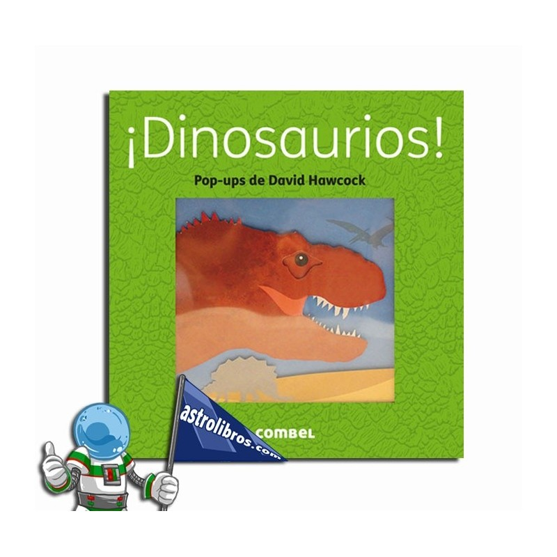 ¡Dinosaurios! Libro Pop-Up. Erderaz.