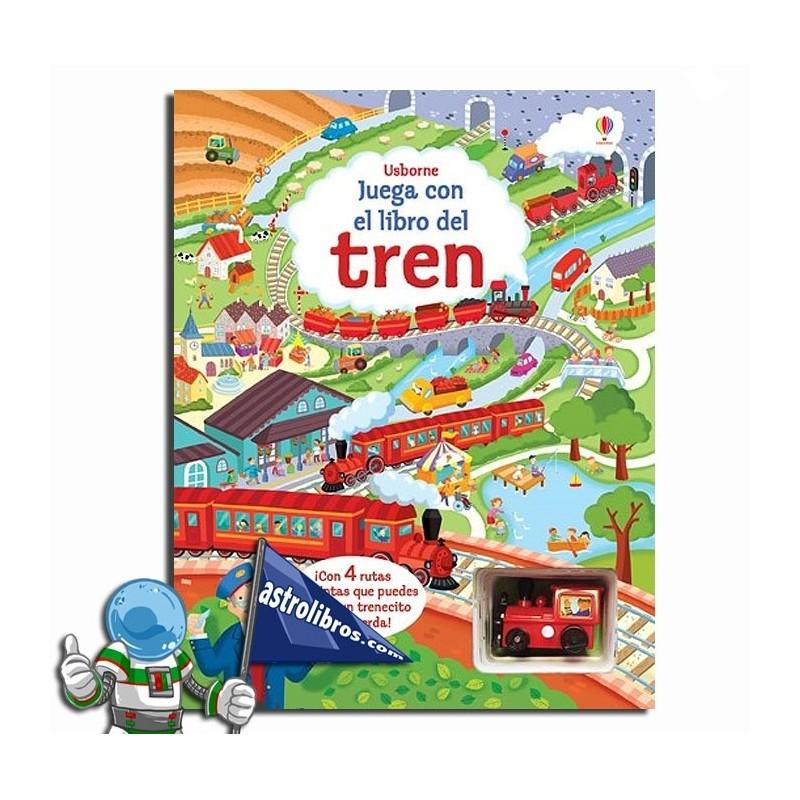 Libro puzzle. Juega con el libro del Tren.