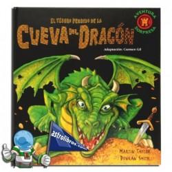 El tesoro perdido de la cueva del dragón. Libro Pop-up