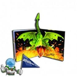 El tesoro perdido de la cueva del dragón | Libro Pop-up
