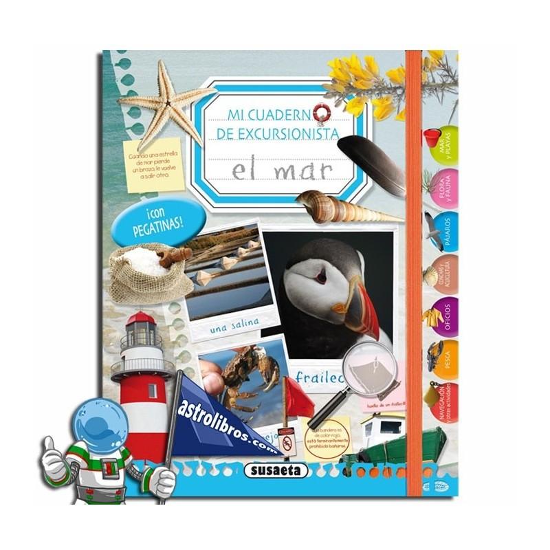 Mi cuaderno de excursionista al mar  (En papel)