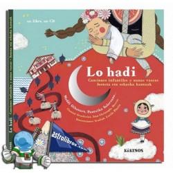 LO HADI , CANCIONES INFANTILES Y NANAS VASCAS , LIBRO CON CD