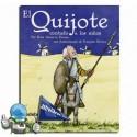 El Quijote contado a los niños. (Castellano)