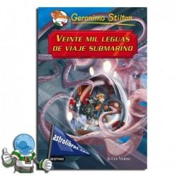VEINTE MIL LEGUAS DE VIAJE SUBMARINO | GRANDES HISTORIAS | GERONIMO STILTON