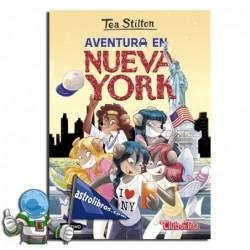 Aventura en Nueva York. Tea Stilton nº 6. Nueva edición. Erderaz.