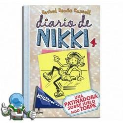 Diario de Nikki 4. Una patinadora sobre hielo algo torpe. Erderaz.