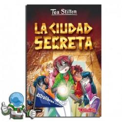 TEA STILTON 3. LA CIUDAD SECRETA. NUEVA PORTADA