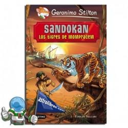 SANDOKAN | GRANDES HISTORIAS | GERONIMO STILTON