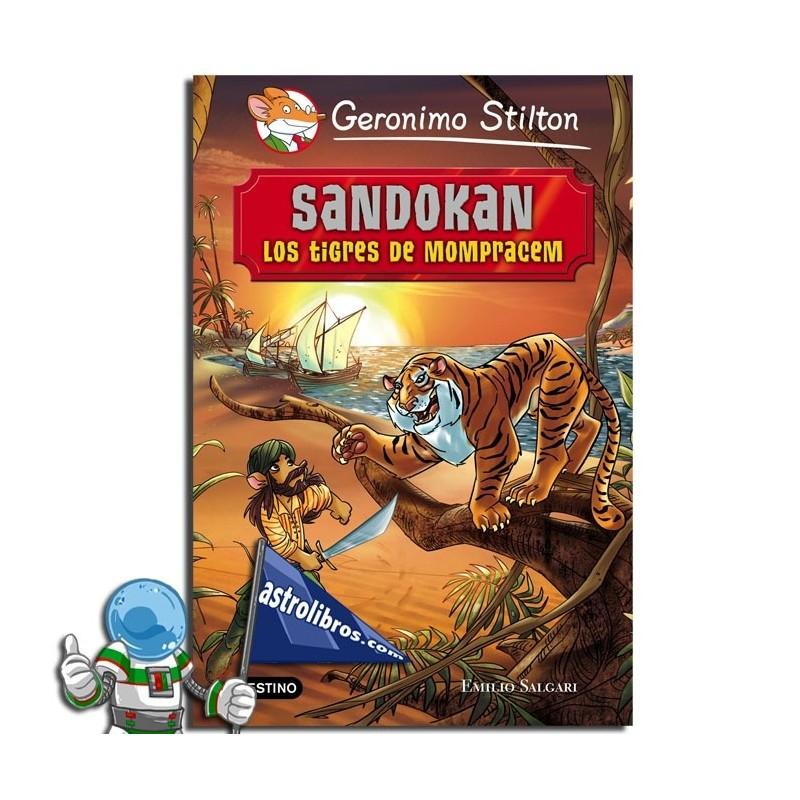 SANDOKAN. GRANDES HISTORIAS. GERONIMO STILTON