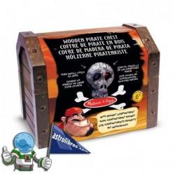 Cofre en madera de Pirata
