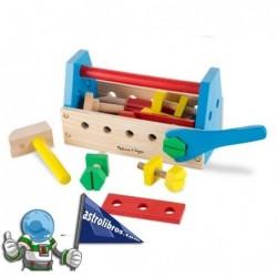 Juego de herramientas en madera para niños