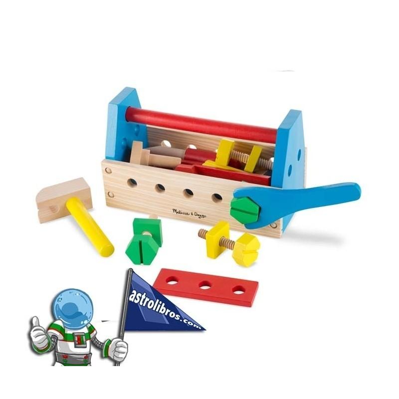 Juegdo de herramientas en madera
