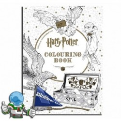 LIBERA TU CREATIVIDAD CON HARRY POTTER COLORING BO