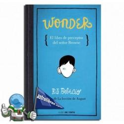 El libro de preceptos del Señor Browne. Wonder. Erderaz.