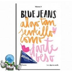 ALGO TAN SENCILLO COMO DARTE UN BESO | BLUE JEANS