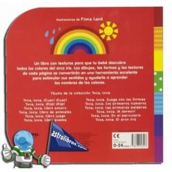 Toca, toca | El arco iris | Libro Infantil de tacto