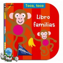 Toca, toca. Libro familias. Erderaz.
