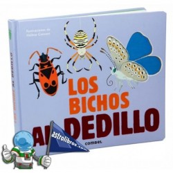 LOS BICHOS AL DEDILLO | LIBRO CON TEXTURAS