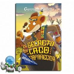 EL SECRETO DEL LAGO DESAPARECIDO. GERONIMO STILTON 50.
