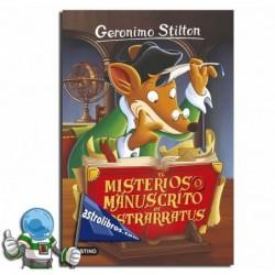 EL MISTERIOSO MANUSCRITO DE NOSTRARRATUS. GERONIMO STILTON 3