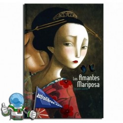 Los amantes mariposa. Álbum ilustrado.