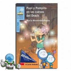 PUPI Y POMPITA EN LAS CUEVAS DEL DRACH