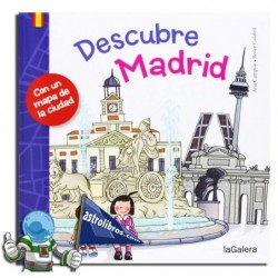 DESCUBRE MADRID , GUÍA DE VIAJE INFANTIL