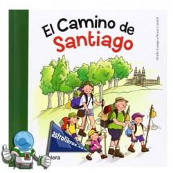 EL CAMINO DE SANTIAGO , TRADICIONES, LETRA CURSIVA
