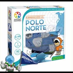 EXPEDICIÓN AL POLO NORTE , JUEGO DE LÓGICA PARA UN JUGADOR , SMART GAMES