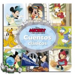 Cuentos clásicos. Mickey y sus amigos. Erderaz.