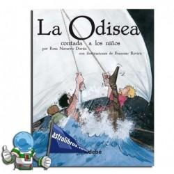 La Odisea contada a los niños. Erderaz.