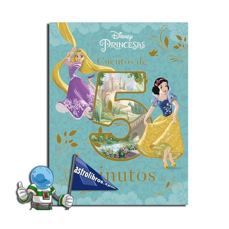 Princesas Disney. Cuentos de 5 minutos. Erderaz.