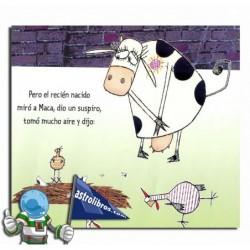 La vaca que puso un huevo   Ipuin irudiduna