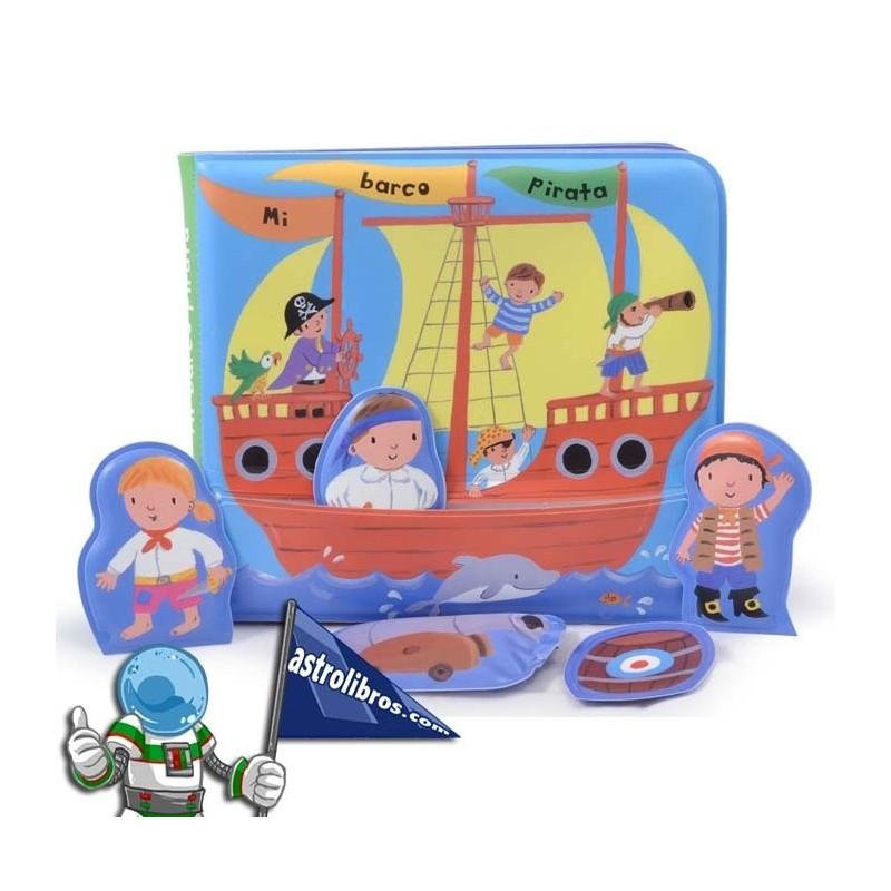 Libro baño: Mi barco pirata.