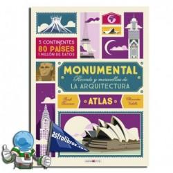 Récords y maravillas de la arquitectura. Atlas monumental.