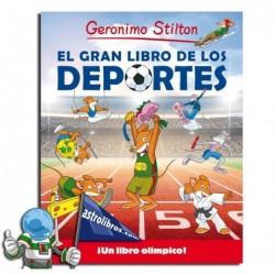 EL GRAN LIBRO DE LOS DEPORTES , GERONIMO STILTON