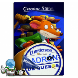 EL MISTERIOSO LADRÓN DE QUESOS , GERONIMO STILTON 36