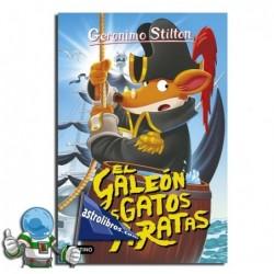 Gerónimo Stilton nº8. El galeón de los gatos piratas.