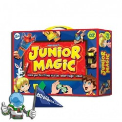 JUNIOR MAGIC. CAJA DE MAGIA CON DVD.