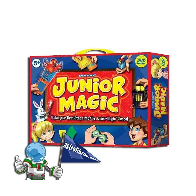 JUNIOR MAGIC. CAJA DE MAGIA CON DVD.