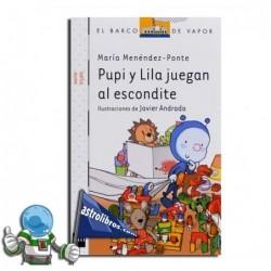 PUPI JUEGA AL ESCONDITE