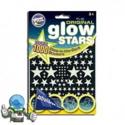 ESTRELLAS QUE BRILLAN EN LA OSCURIDAD , 1000 STICKERS GLOW IN THE DARK