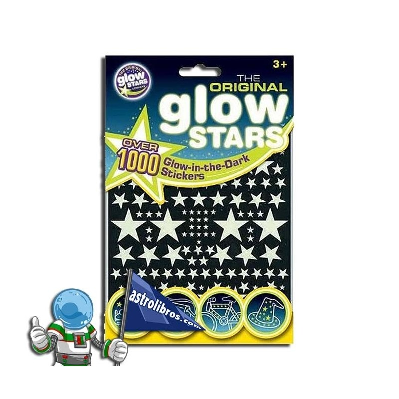 ESTRELLAS QUE BRILLAN EN LA OSCURIDAD. 1000 STICKERS GLOW IN THE DARK.
