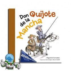 Don Quijote de la Mancha. Erderaz.