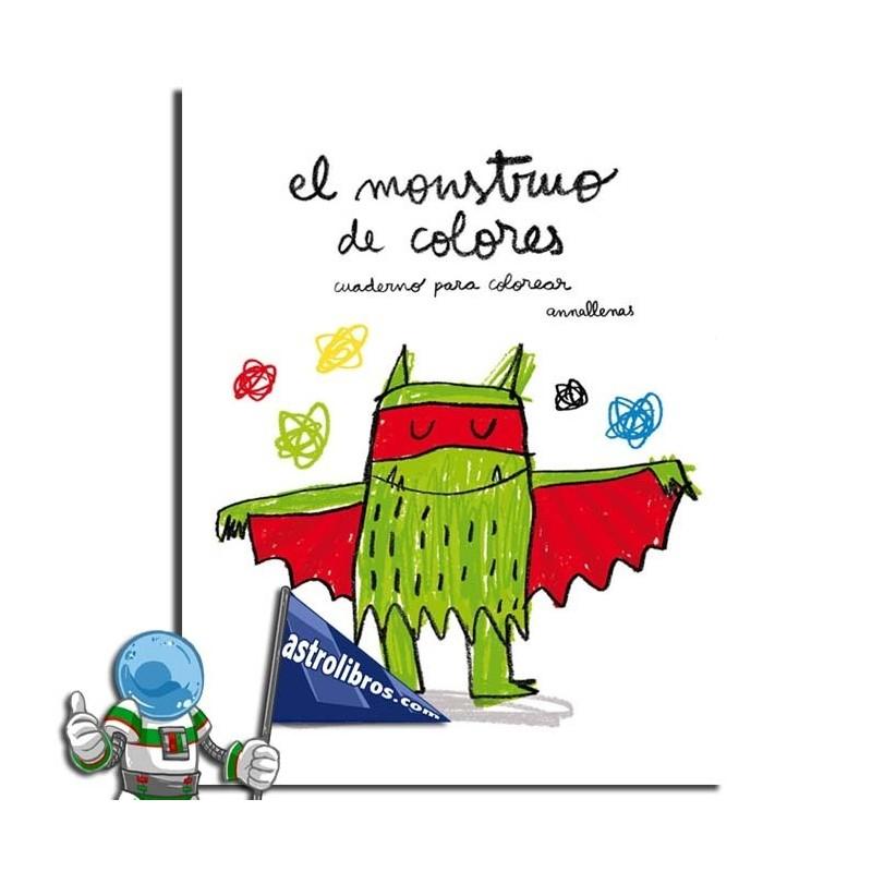 EL MONSTRUO DE COLORES. LIBRO DE COLOREAR.