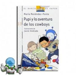Pupi y la aventura de los cowboys. Erderaz.