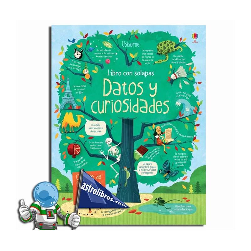 DATOS Y CURIOSIDADES. LIBRO CON SOLAPAS