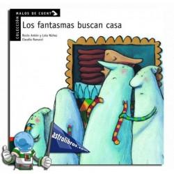 LOS FANTASMAS BUSCAN CASA , MALOS DE CUENTO ,PICTOGRAMAS