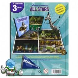 DreamWorks. All Stars. Liburu-joko.
