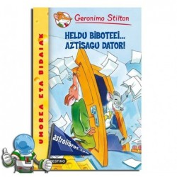 GERONIMO STILTON EUSKERA 15 | HELDU BIBOTEEI... AZTISAGU DATOR!